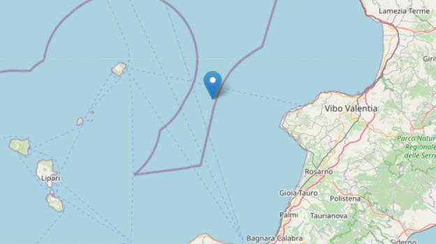 calabria, eolie, terremoto, Sicilia, Cronaca