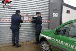 Torano, smaltimento illecito di rifiuti in una autofficina: denunciato il proprietario