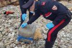 Droga: pacco con 300 panetti hashish scoperto a Erice (Trapani)