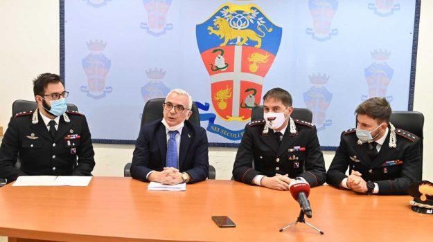 Alessandro Pauri, Vincenzo Capomolla, Bruno Capece e Alessandro Bui hanno illustrato i dettagli dell'indagine sull'omicidio Belsito