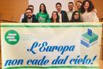 I componenti della sezione del Movimento Federalista Europeo di Vibo Valentia