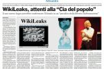 """WikiLeaks, quando Julian Assange creò la """"Cia del popolo"""""""