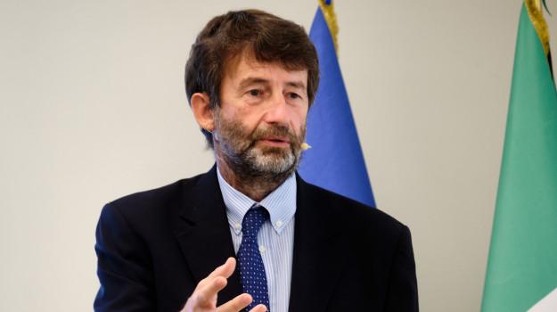 ministro della cultura, Dario Franceschini, Sicilia, Politica