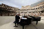 Apertura del Colosseo: le prove del concerto di riapertura