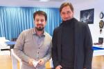 Reggina, Gallo incontra Francesco Totti: prove di collaborazione