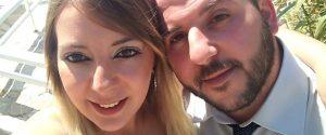 Piera Napoli con il marito Salvarote Baglione