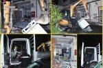 Tentano l'assalto con una ruspa alle poste, un arresto a Catania - FOTO