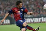 © A&G / LaPresse14-05-2005 GenovaSport CalcioGenoa Cesena campionato serie B 2004 2005Nella foto Sartor in azione
