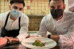 Linguine con pesto di rucola, totanetti e nocciole è il piatto di chef Annunziata - INGREDIENTI