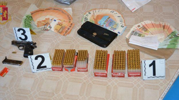 arresto, munizioni, pistola, rombiolo, Catanzaro, Cronaca
