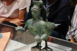 L'askos di Crotone era finito nel Getty Museum