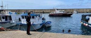 Bagnara Calabra: controlli dei carabinieri, l'area portuale posta sotto sequestro