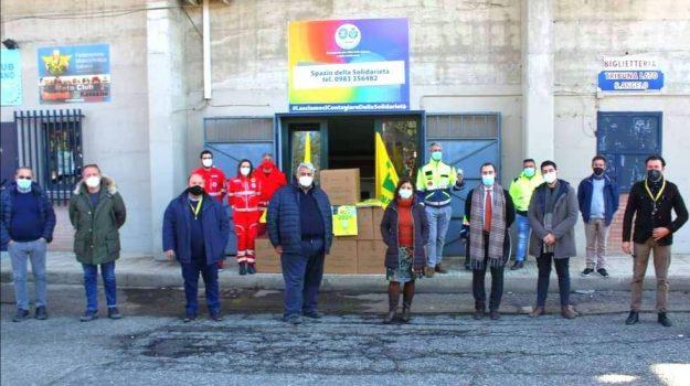 campagna amica coldiretti, corigliano-rossano, pacchi solidali, Antonino Fonsi, Francesco Graziani, Cosenza, Economia