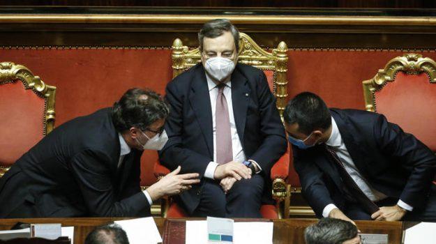 governo draghi, voto di fiducia, Mario Draghi, Sicilia, Politica