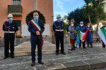Messina, deposta una corona d'alloro in memoria delle vittime delle Foibe