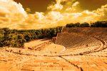 Teatro greco di Messina: l'ipotesi della collina di Montepiselli. Le immagini dei reperti