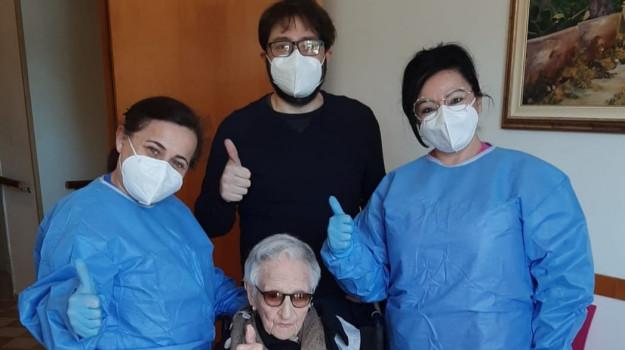 107 anni, seconda dose, vaccino, Sicilia, Cronaca