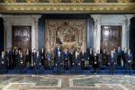 In Consiglio dei ministri piano Draghi da 221 miliardi, maggioranza in fibrillazione