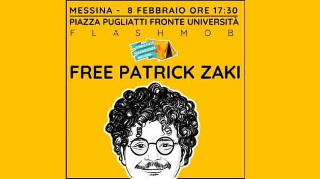 flashmob, Patrick Zaki, Messina, Cronaca