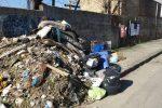 Cosenza, cumuli di rifiuti abbandonati e lasciati marcire per strada - FOTO E VIDEO