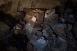 Pizzo, rifiuti nell'ossario del cimitero - VIDEO