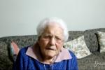 """L'appello di nonna Cristina, che compie 101 anni: """"Ho fatto il vaccino anti-Covid, fatelo anche voi"""""""