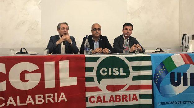 Cgil Cisl Uil Calabria, emergenza sanità calabria, AngeloSposato, Santo Biondo., Tonino Russo, Calabria, Cronaca