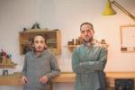 I messinesi Andrea e Fabrizio, due geniali sognatori coi piedi piantati... sul legno