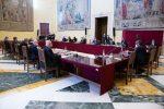 Governo politico o istituzionale: sul documento non c'è ancora accordo. Iv alza il tiro