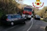 Vibo Valentia, scontro auto-furgone: traffico in tilt