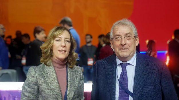 ERNESTO MAGORNO, Silvia Vono, Calabria, Politica