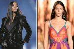 Naomi Campbell e la top model Vittoria Ceretti