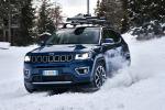 Con le Jeep 4xe guida sicura anche d'inverno