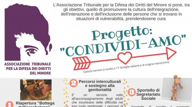 catanzaro, progetto Condividi-Amo, Tribunale per la difesa dei diritti del minore, Catanzaro, Società