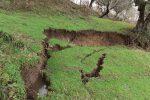 Dissesto idrogeologico a Cerisano, attiva una grossa frana