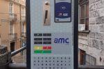 Catanzaro, installati 14 nuovi parchimetri per la sosta a pagamento