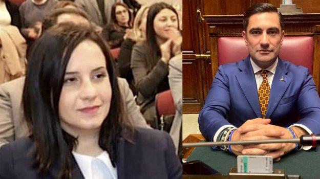 incontro con i commissari, lamezia terme, scuola, viabilità, Antonietta D'Amico, Domenico Furgiuele, Catanzaro, Politica