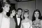 Edy Campagnoli, Maria Giovannini, Rossana Armani e Giuliana Copreni (1963, il primo Festival del grande Mike Bongiorno)