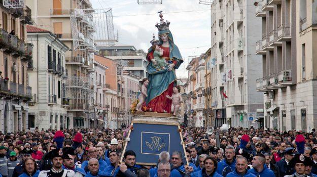 madonna del pilerio, ospedale cosenza, processione, Cosenza, Cronaca