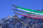 Frecce tricolore su Cortina