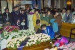 I funerali delle vittime della strage di Buonvicino