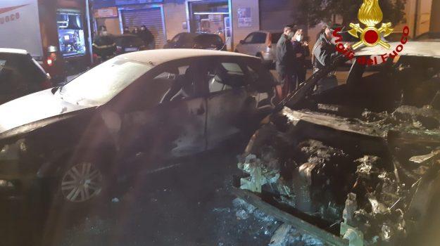 auto, incendio, Catanzaro, Cronaca