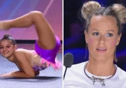 Italia's Got Talent, l'esibizione di Giorgia Greco emoziona: Federica Pellegrini si commuove L'atleta 13enne si è esibita in una performance a corpo libero, con elastico e cerchio - Corriere Tv