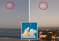 L'«Ufo» visto nei cieli della Florida era un missile balistico della marina Usa Il Trident-II può colpire un bersaglio a più di 11.300 chilometri di distanza - CorriereTV