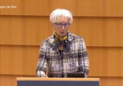 """Lagarde (Bce): «Essenziale erogare velocemente Recovery Fund» """"Fondi siano usati per riforme strutturali e investimenti verso la crescita"""" - Ansa"""