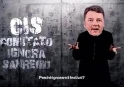 Lo spot di Fiorello mascherato da Renzi: «Mettiamo in crisi Sanremo che sennò poi Amadeus vuole fare il terzo» Lo spot di Fiorello che invita ironicamente a ignorare il Festival dal 2 al 6 marzo - Corriere Tv