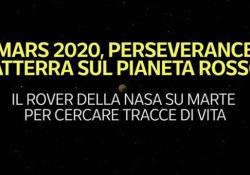 Mars2020, Perseverance atterra sul Pianeta Rosso Il rover della Nasa su Marte per cercare tracce di vita - Ansa