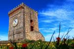 La torre dell'orologio di Mendicino