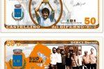 Maradona sulle banconote ducato, un comune molisano anticipa i pesos argentini