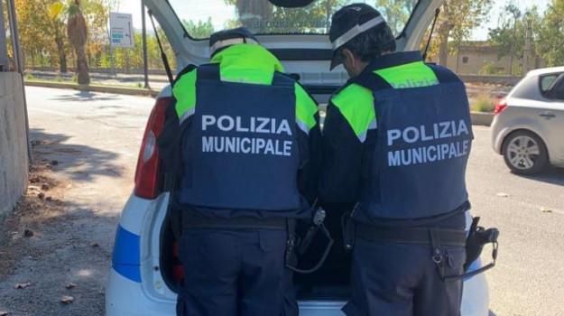 polizia locale, sequestri, Reggio, Cronaca